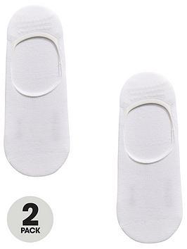 boss-bodywear-2-pack-shoe-liner-sock-white