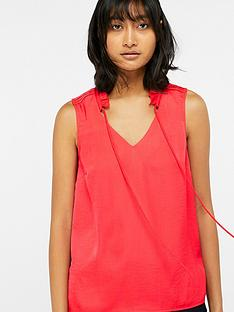 monsoon-wisteria-woven-front-sleeveless-top-coral