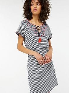 monsoon-heidynbspshort-dress-stripe