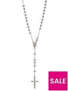 the-love-silver-collection-sterling-silver-rosary-cross-pendant