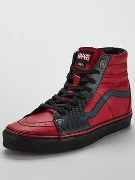 Deadpool Vans hi Sk8 Marvel Low Price Cheap Price Affordable Cheap Price Authentic Free Shipping Inexpensive Discount Manchester Great Sale 0Uh9qiR1MT