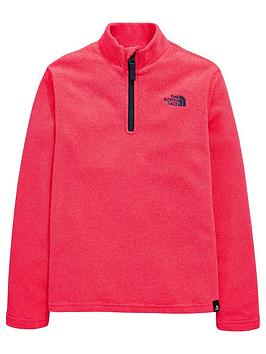 the-north-face-the-north-face-girls-glacier-14-zip-fleece