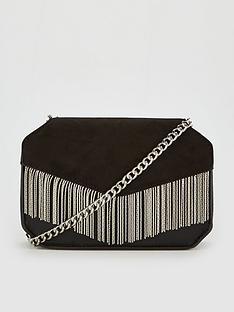 v-by-very-perrie-chain-trim-boxy-bag-black