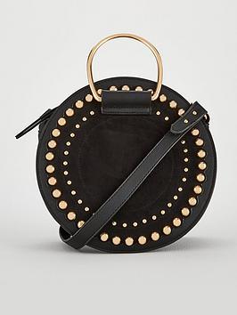 v-by-very-portia-studded-round-bracelet-bag-black