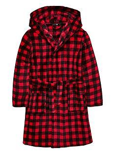 8ff8ea0868 V by Very Checked Fleece Robe