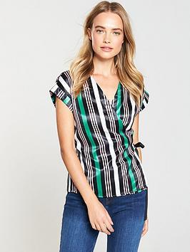 v-by-very-sleeveless-wrap-top-stripe