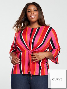v-by-very-curve-knot-front-top-stripe