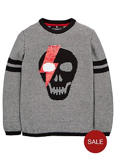 v-by-very-boys-reversible-sequin-skull-knitted-jumper-black