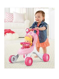 fisher-price-princess-chime-doll-amp-stroller-gift-set