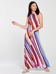 v-by-very-striped-maxi-dress
