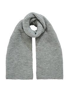 v-by-very-ebonee-plain-ribbed-scarf-grey