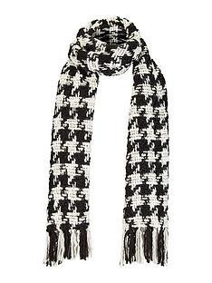 v-by-very-emily-dogtooth-scarf-blackwhite