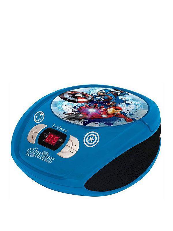 Avengers Radio CD Player Boombox