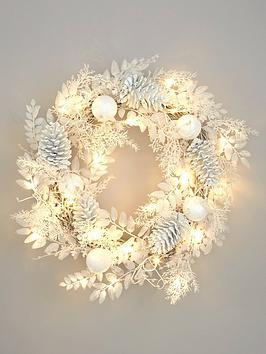 pre-lit-winter-white-christmas-wreath
