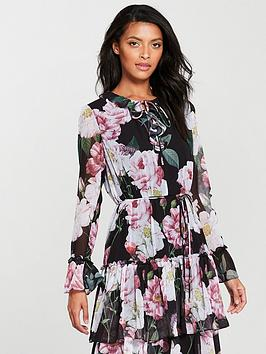 Sale Best Store To Get Dress Baker Midi Betssie Ted Iguazu Clearance Cheap Online Looking For YPBD8q6r0P