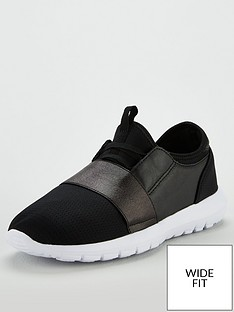 v-by-very-wide-fit-amanda-elastic-strap-trainer-black