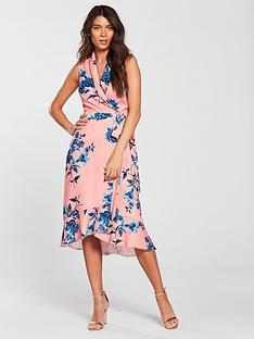 phase-eight-felita-floral-print-dress-coral