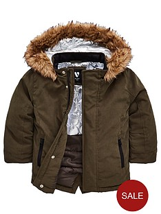 mini-v-by-very-boys-borg-trim-parka-coat-khaki