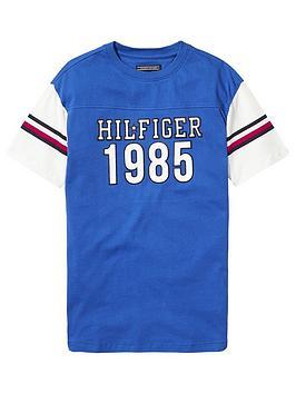 tommy-hilfiger-unisex-boxy-varsity-t-shirt-blue