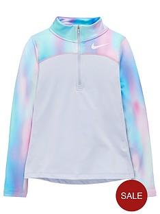 nike-nike-older-girls-long-sleeve-aop2-half-zip-top