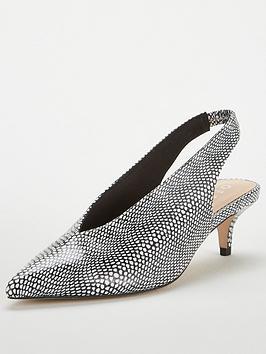 office-miranda-skinny-snake-sling-back-kitten-heel-shoes-multi