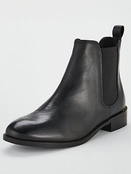 office-bramble-leather-ankle-boots-black