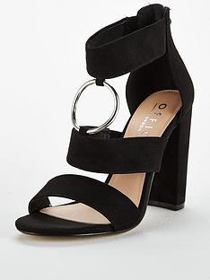dbc3c53199a OFFICE Habibi Heeled Sandal - Black