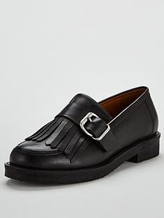 office-fisher-chunky-loafer-black