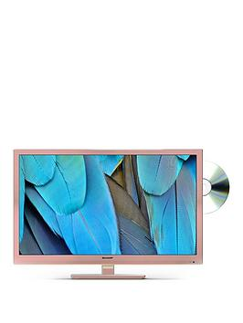 sharp-lc-24dhf4011kr-24-inch-hd-ready-freeview-hd-tv-with-dvd-player-rose-gold