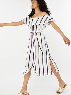 monsoon-utari-stripe-linen-midi-dress-ivory