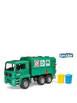 bruder-man-tga-garbage-truck-green