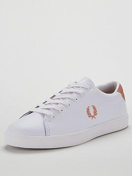 fred-perry-lottie-leather-trainer
