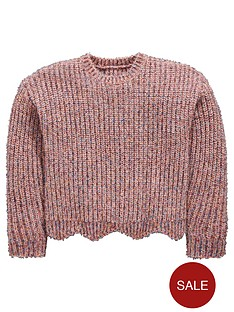 mini-v-by-very-girls-sparkle-pink-scallop-hem-jumper