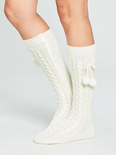 v-by-very-cable-knee-high-pom-pom-socks-creamnbsp
