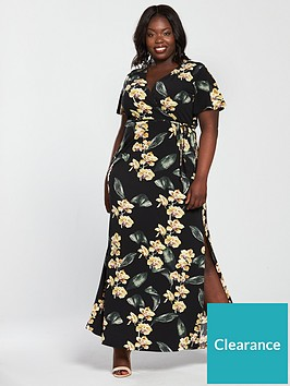 v-by-very-curve-jersey-wrap-maxi-dress-print