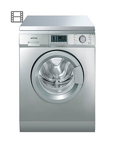 smeg-wdf147x-7kg-wash4kg-dry-1400-spin-freestanding-washer-dryer-stainless-steel