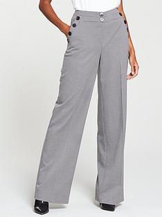 v-by-very-mini-check-wide-leg-trouser