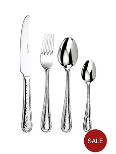 arthur-price-concerto-32-piece-premium-hammered-beaded-stainless-steel-cutlery-set