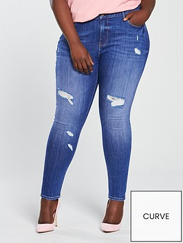 v-by-very-curve-mid-rise-rip-skinny-jean-bright-blue