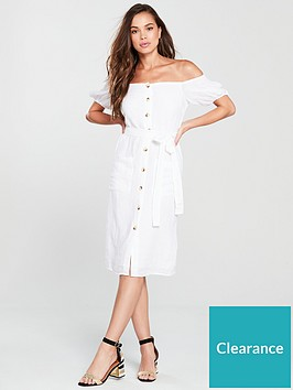 river-island-bardot-midi-dress-white