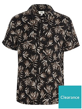 river-island-boys-black-feather-print-short-sleeve-shirt