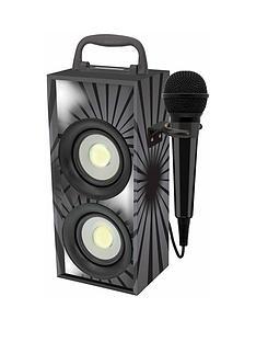 mini-bluetooth-karaoke-tower-with-microphone-black
