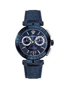 versace-aion-blue-and-silver-detail-chronograph-dial-blue-denim-strap-mens-watch