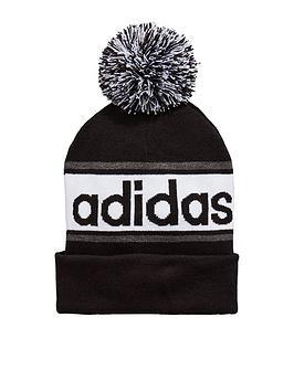 adidas Linear Woolie Bobble Hat  d8c4a3630d1