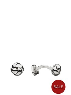 links-of-london-links-of-london-sterling-silver-knot-cufflinks
