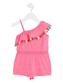 river-island-mini-girls-bright-tassel-frill-playsuit