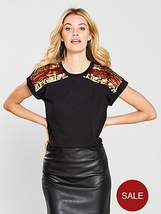 v-by-very-rainbow-sequin-shoulder-t-shirt-black