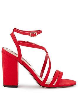 miss-selfridge-miss-selfridge-thin-strap-high-block-heel