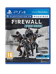 playstation-4-firewall-zero-hour-playstation-vr-required-ps4