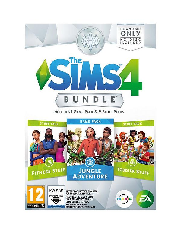 The Sims 4 Bundle Jungle Adventure Fitness And Toddler Pc